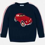 Пуловер с кола